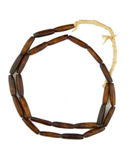 Cuenta marrón 2,5-3 cm largo, venta por unidad